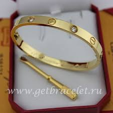 gold love bracelet with diamonds images Imitation cartier yellow gold love bracelet 4 diamonds b6035916 jpg