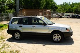 subaru awd wagon 2005 subaru forester awd silver used wagon sale