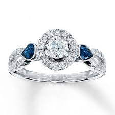 Kay Jewelers Wedding Rings For Her by Bling Fling Diamond And Sapphire Rings