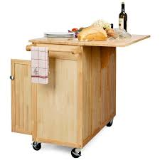 movable kitchen island with breakfast bar the efficient and easy