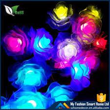 solar powered outdoor decorative flower led solar lighting