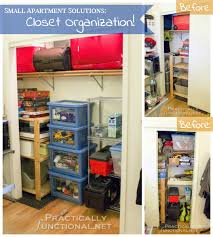 Storage Ideas For A Small Apartment Small Apartment Solutions Closet Organization