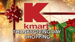 kmart opens thanksgiving day for black friday shoppers