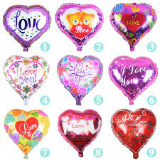 valentines balloons wholesale 18 i you balloon day wedding decorations party