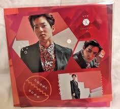 exo japan album exo japan 1st album countdown first limited edition cd photocard kai