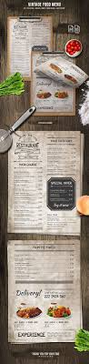 photoshop menu template best 25 menu design templates ideas on menu