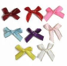 ribbon bows gold threaded satin ribbon bows festive card silk premium