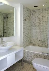 tiles for small bathrooms ideas small bathroom tiles design grey plaid white wash basin white water