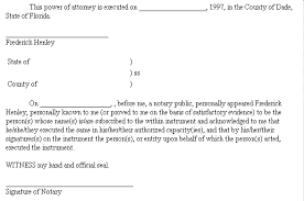 example document for general power of attorney