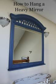 best way to hang mirror how to hang a mirror with pictures wikihow