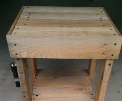 Bedroom Furniture With Hidden Compartments Pallet End Table Secret Storage 3 Steps