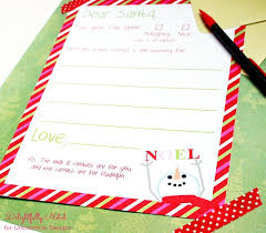 letter to santa free christmas printable a great holiday tradition