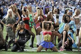 Girls Cheerleader Halloween Costume Nfl Cheerleaders Celebrate Halloween Costume