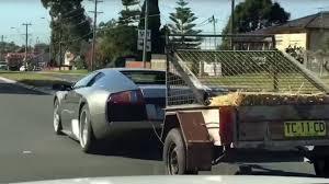 Lamborghini Murcielago Drift Car - watch this lamborghini murcielago tow some goats the drive