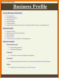 profile format sample company profile sample 7 free documents in