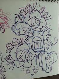 26 best drawing gun tattoo for girls images on pinterest gun