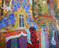 cinderella castle mosaic murals elly and caroline s magical moments 2014