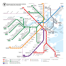 Boston Airport Map by Hypothetical Future T Map That I Created Or A