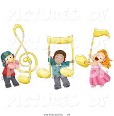 kids music notes clipart clipartxtras