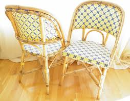 Rattan Bistro Chairs Captivating Rattan French Bistro Chairs With Parisienne Authentic