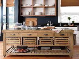 Wheeled Kitchen Islands Reclaimed Big Portable Kitchen Islands And Drawers Mobile Kitchen
