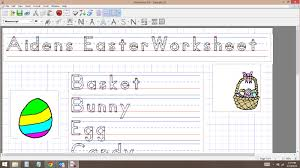 startwrite 6 handwriting worksheet wizard software review the