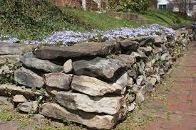 Rock Garden Steps by Building Stone Retaining Walls In 16 Easy Steps