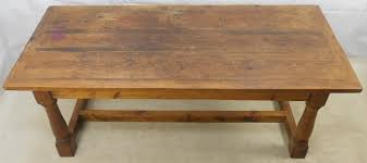Refectory Dining Tables Style Heavy Pine Refectory Dining Table