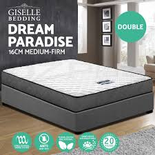 queen king single double mattress bed size bonnell spring foam