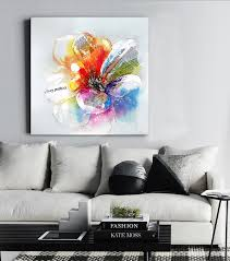Modern Art Home Decor Canvas Rose Promotion Shop For Promotional Canvas Rose On