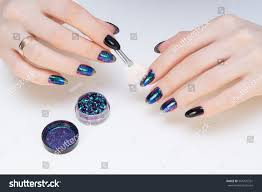 hands natural nails ideal clean manicure stock photo 564775351