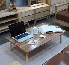 wooden japanese style floor table low tatami laptop desk folding Japanese Style Coffee Table