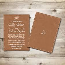 vintage style wedding invitations printable vintage style wedding invitation template brown