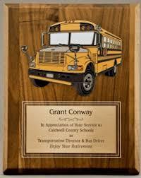 retirement plaque school driver award or gift