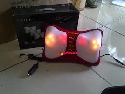Jual Alat Pijat Punggung Advance bantal pijat kaihen elektrik with infared pijat leher dan kepala
