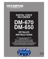 olympus dm 650 user manual 113 pages also for dm 670