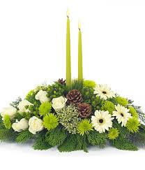 christmas floral arrangements christmas flower centerpiece at from you flowers