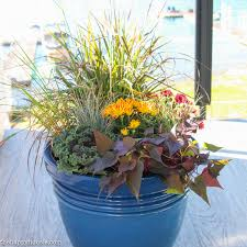 easy beautiful diy fall planters the happy housie