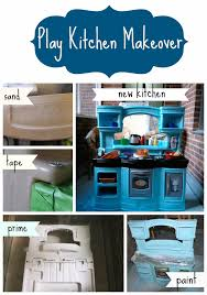 Kitchen Makeover Blog - play kitchen makeover plays kitchens and playrooms