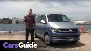 volkswagen minivan 2016 volkswagen transporter caravelle and multivan 2016 review carsguide