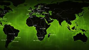 world map city in dubai world map with country names stock footage