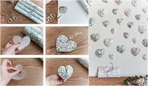 create this pretty 3d paper wall hanging in 6 easy steps