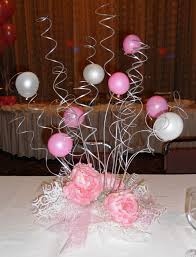 elegant swirl centerpiece 1st bd arty ideas pinterest