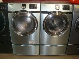 New Clothes Dryers For Sale Blue Samsung Steam Washer And Electric Dryer