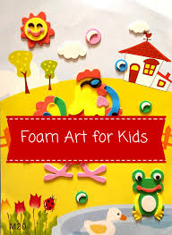 foam art for kids to keep 3 year old boy enthralled u2022 everything