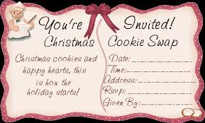 cookie swap invitation denarius info