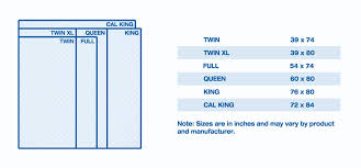 Twin Sized Bed Mattress Size Chart And Mattress Dimensions