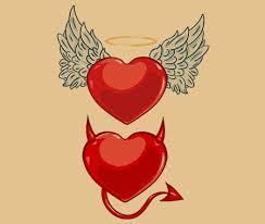 simple evil tattoo good and evil tattoos evil tattoos tattoo and tattoo designs