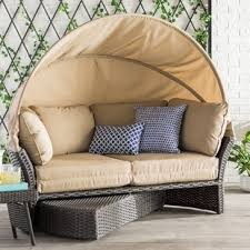 Outdoor Daybed With Canopy Outdoor Daybeds You Ll Wayfair