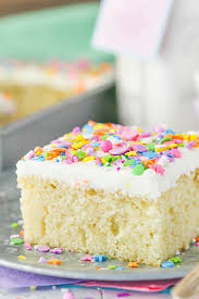 how do you make a cake vanilla cake mix and sugar